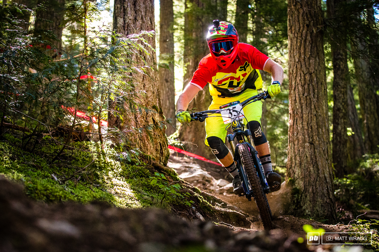 Matt Stuttard is looking to build on his stage win in Aspen this weekend.