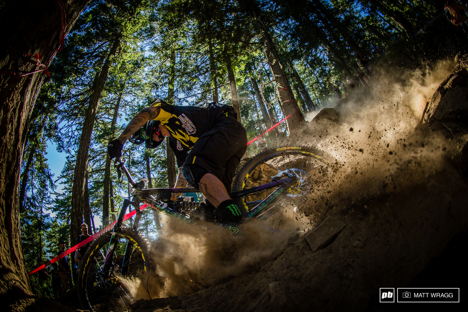 Sam Hill seems to be rather good at this enduro thing. In the three races he has competed in he hasn t finished outside the top ten in fact today is the only time hasn t finished second.
