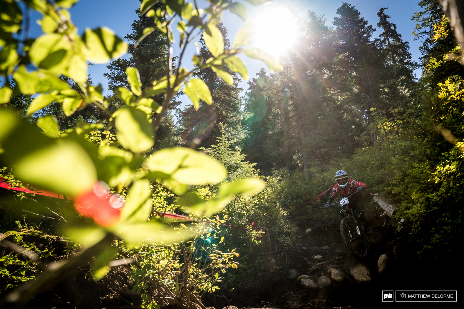 For awhile we were thinking Isabeau might take her first EWS win. Courdurier finished second when the dust had settled.