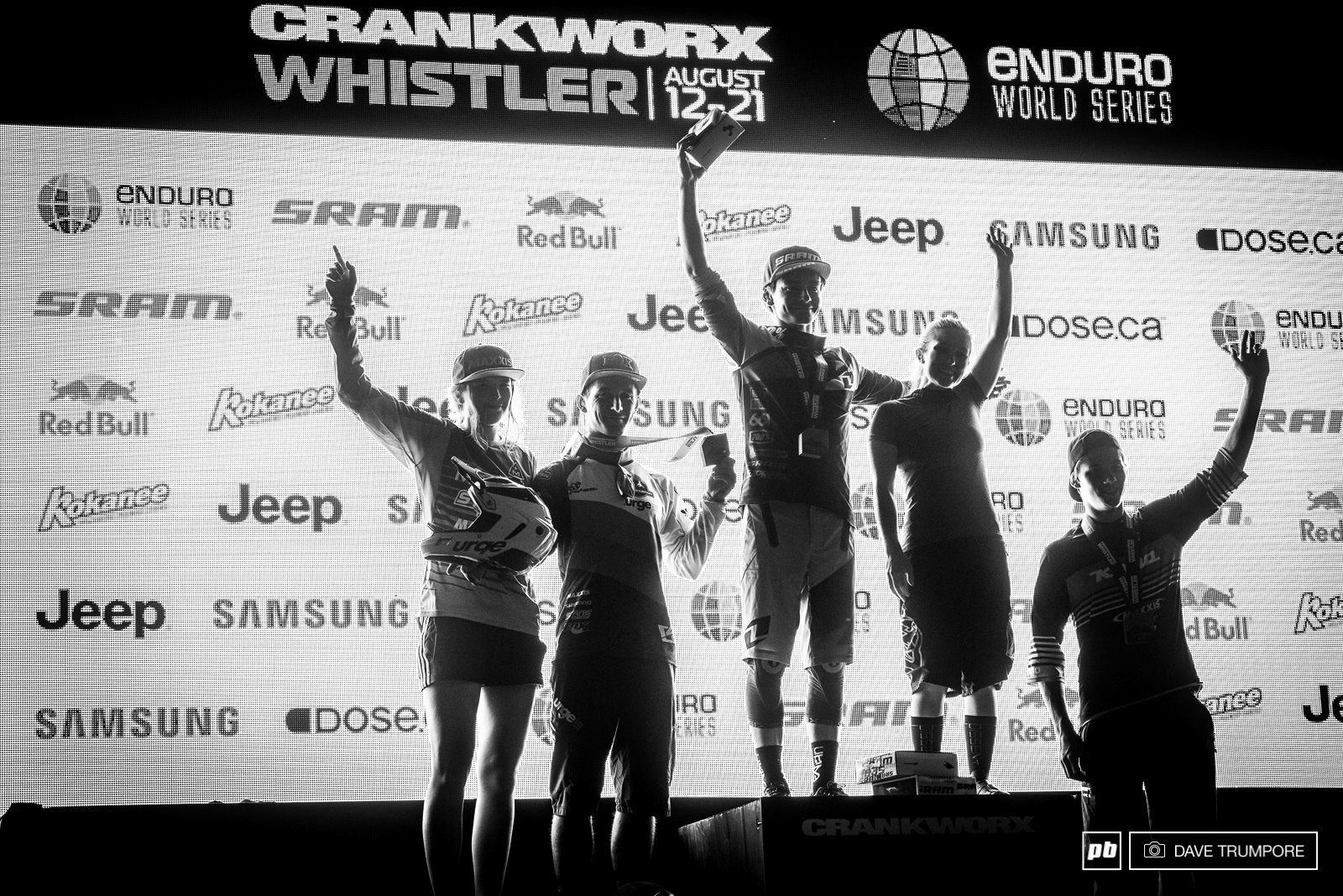 Almost 12 hours after they set out on track the top U-21 riders finally got to climb on top of the podium.