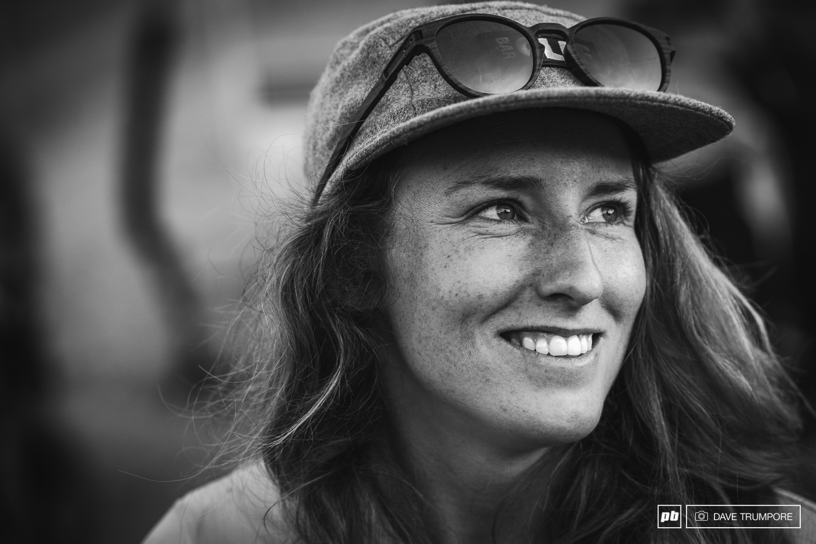 All Smiles from Casey Brown finishing 3rd and showing why she is one of the most talented riders out there.