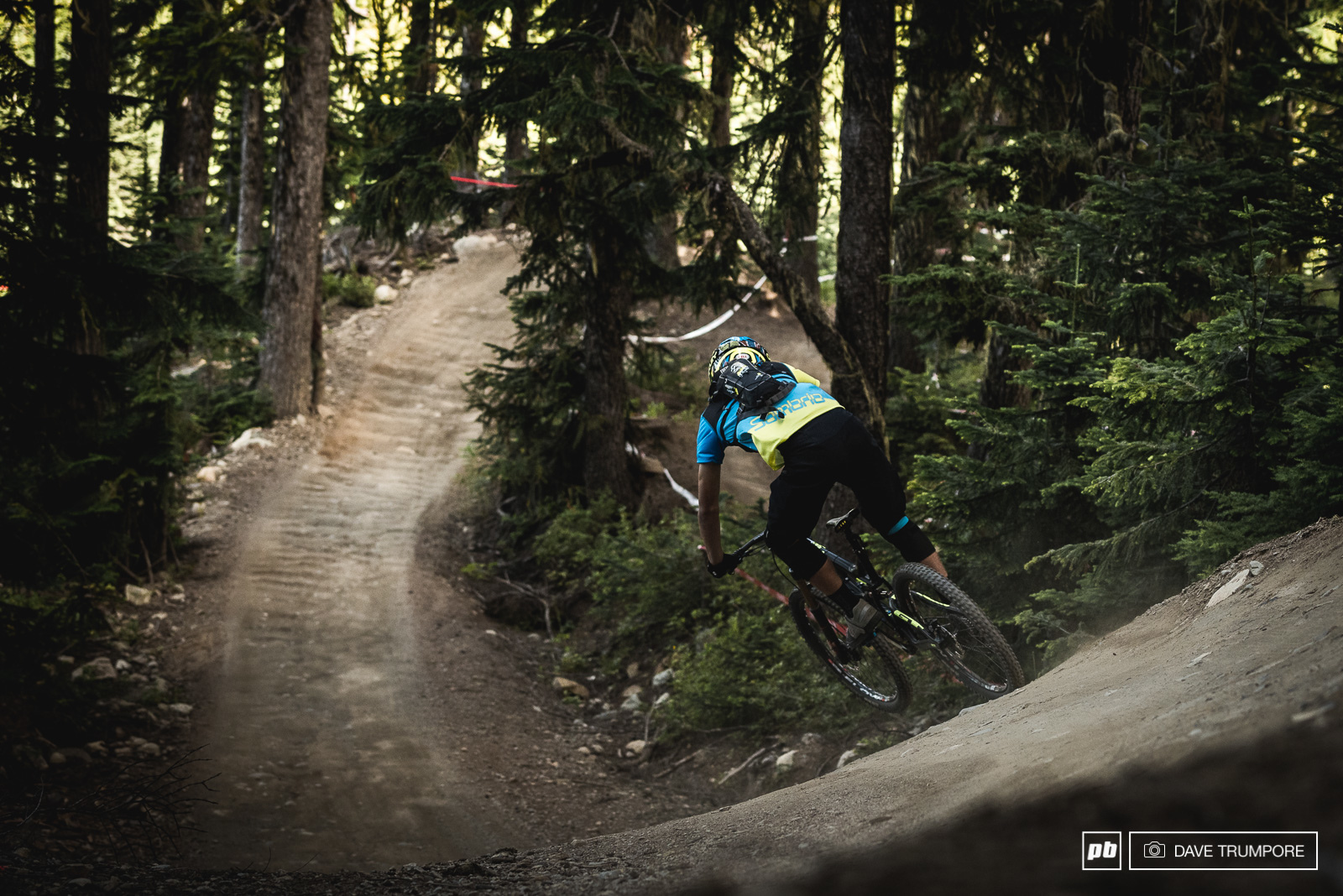 Jackson Frew was one of many downhill racers trying their hand at the EWS for the first time and would finish the day 4th in the U-21 category. Quite a respectable result for a first timer.
