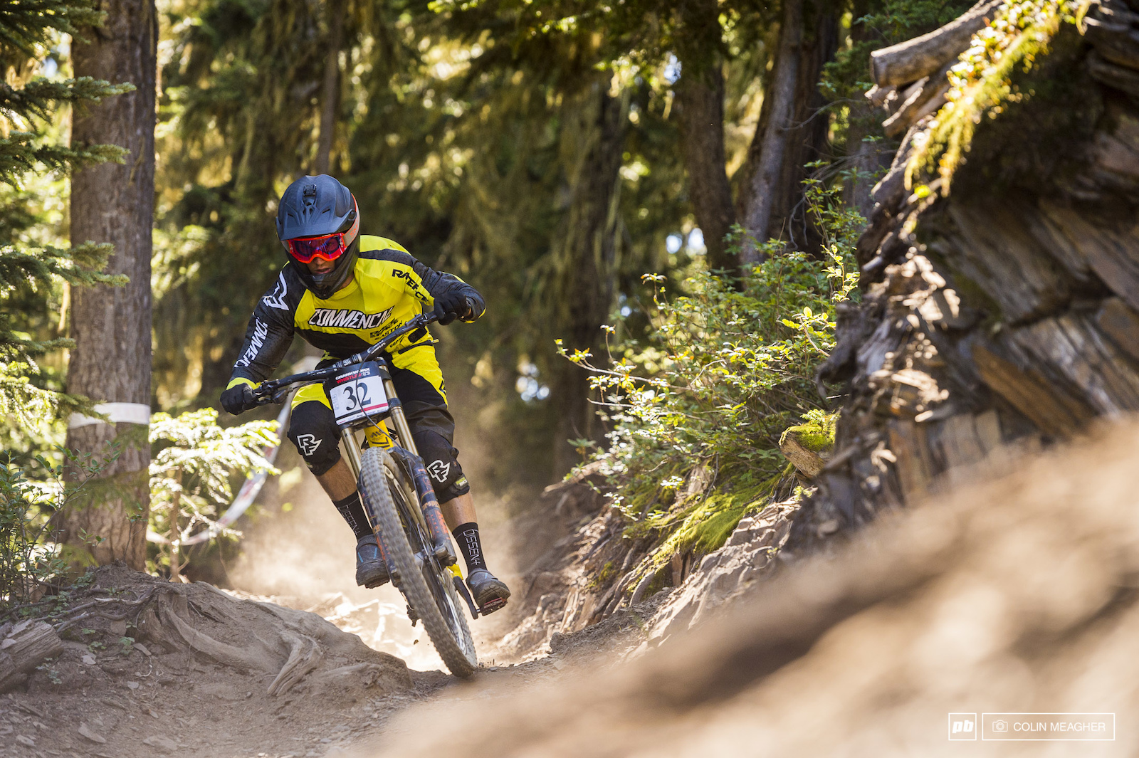 Not so sweet a day for Whistler s DH Freerider Remy Metailler twenty sixth place on his home turf.