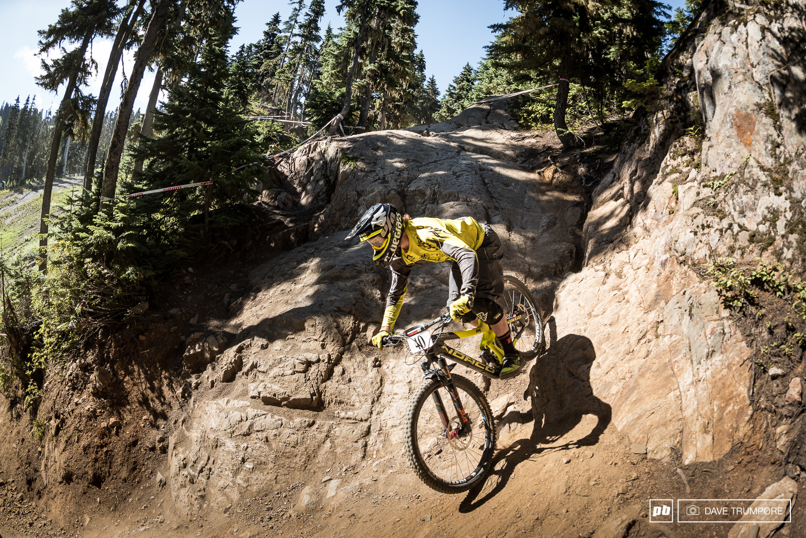 Harry Heath quite possibly racing his last Crankworx after announcing his retirement a few weeks back had a fantastic run to round out the top 5.
