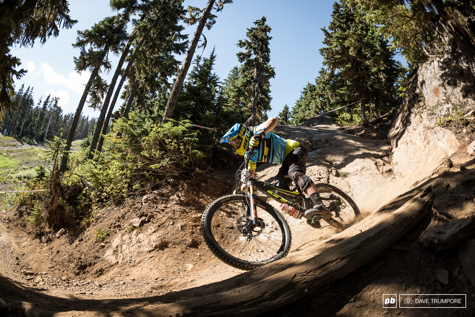 Wyn Maters went for the masochistic approach and tackled Garbanzo on his enduro bike.