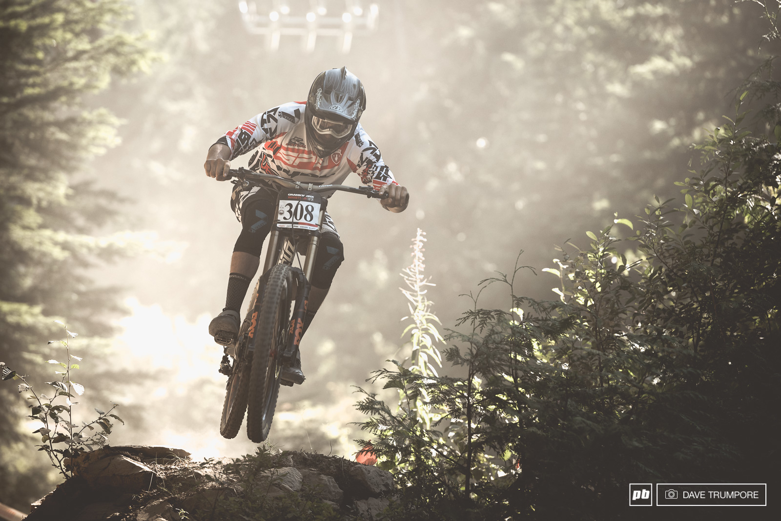 Henry Fitzgerald has had a great Whistler Crankworx and would close things out with a 3rd in the junior race.