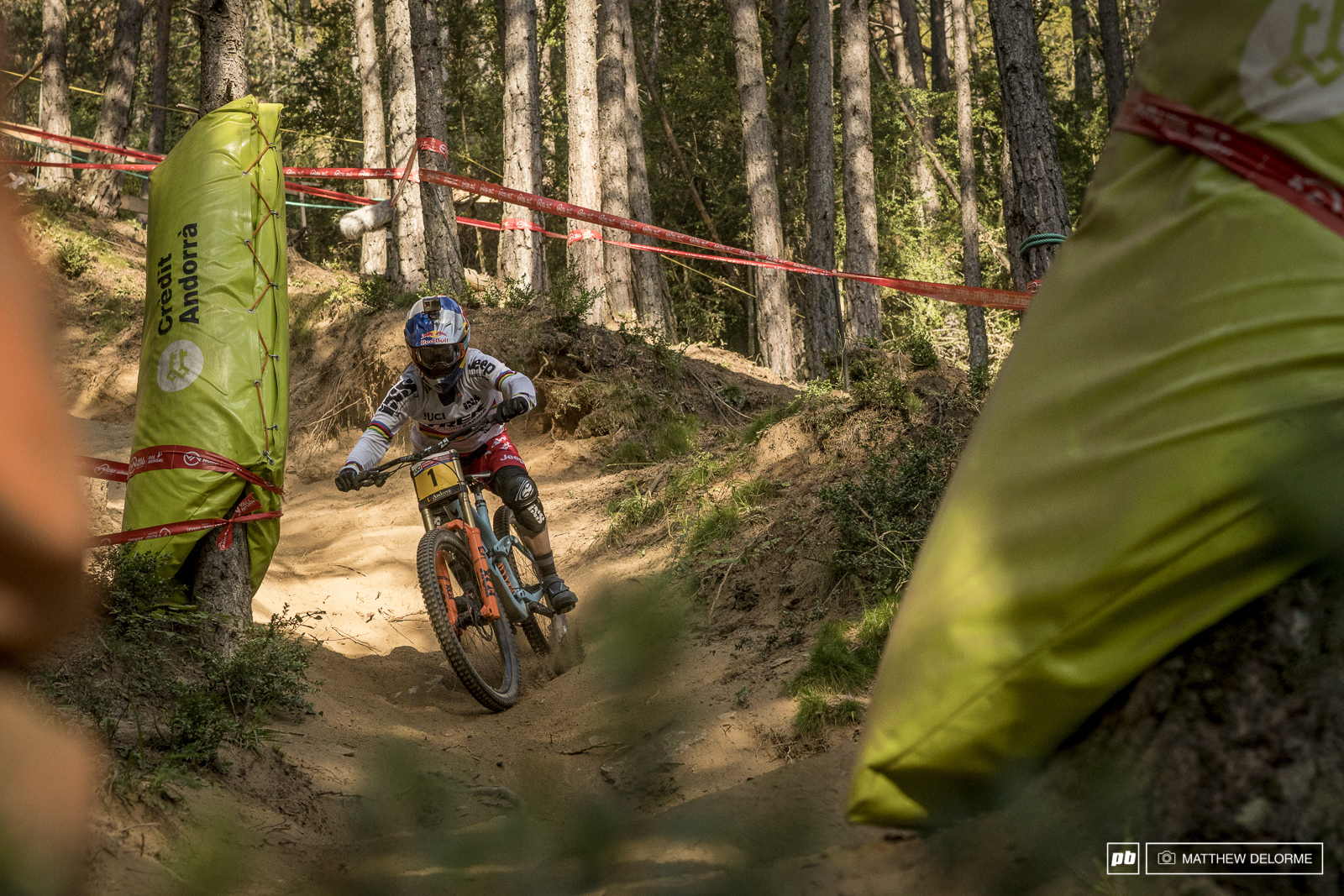 Rachel Atherton proved once again that she is just leaps and bounds ahead of the competition.