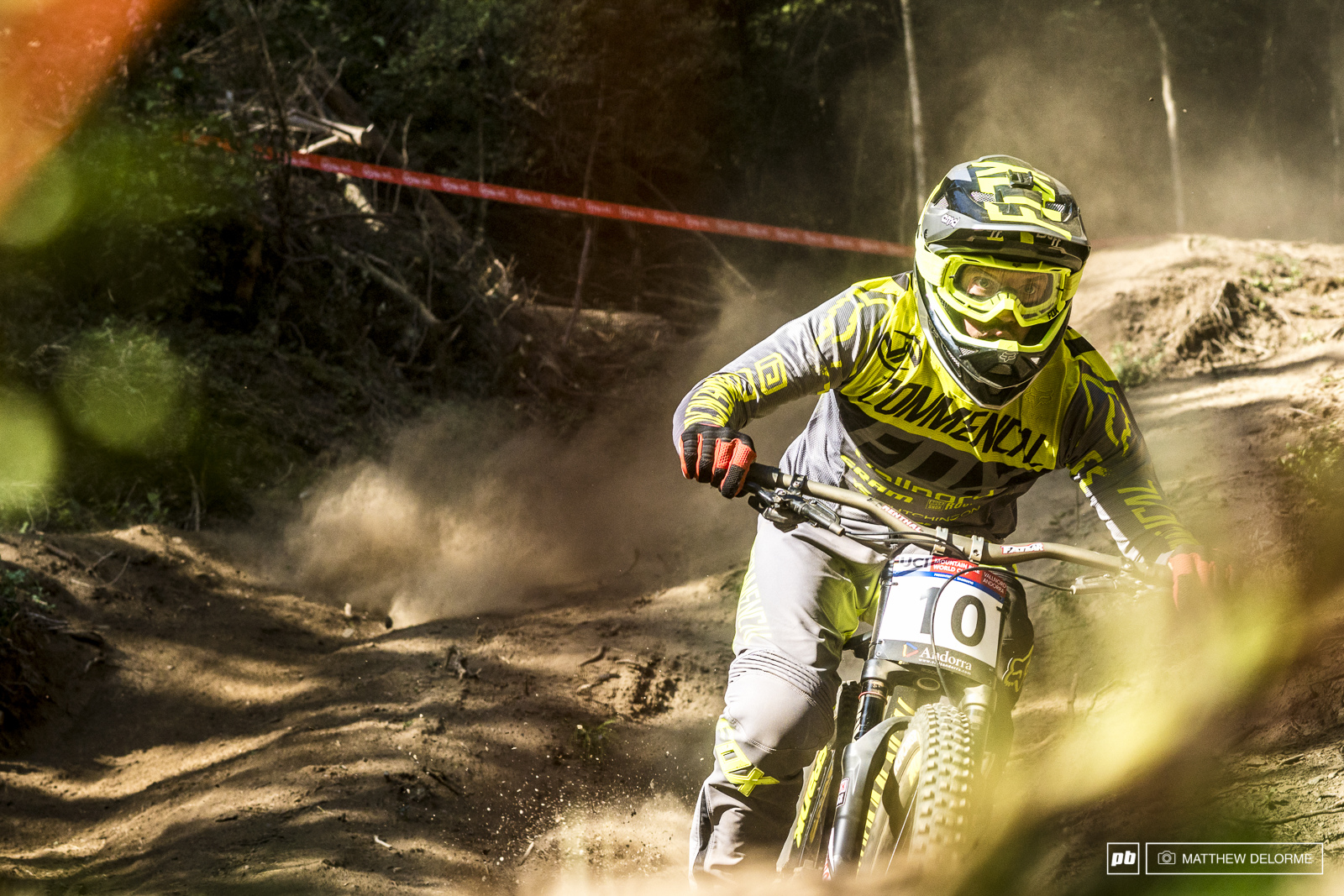 Remi Thirion wasn t able to keep it together in the rapidly changing conditions. He looked phenomenal in practice.