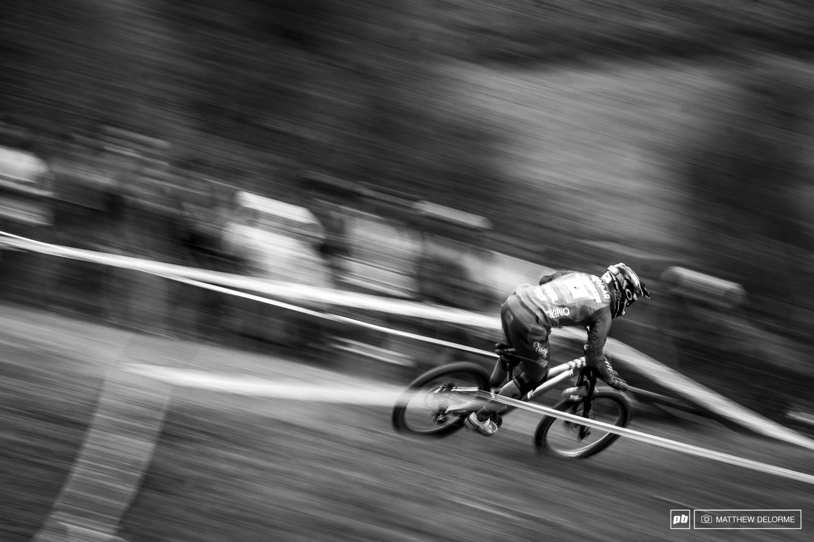 Greg Minnaar. Never ever count the smooth operator out. Still up for a podium run. Any day any conditions.