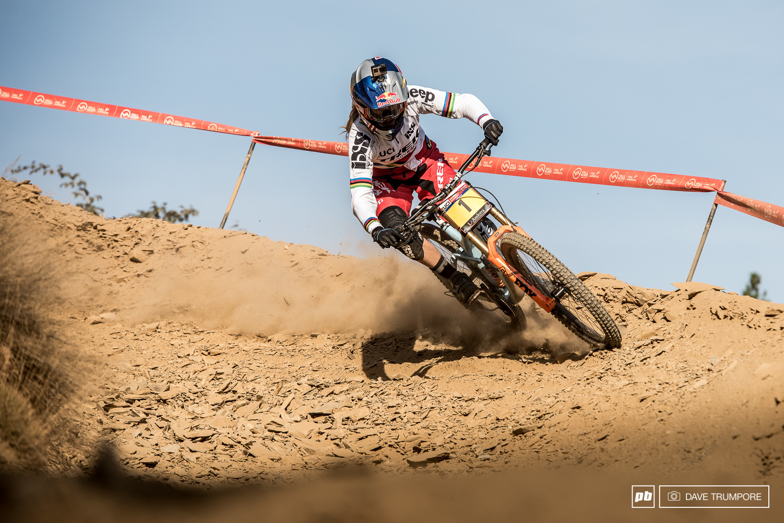 Pure domination once again from Rachel Atherton.