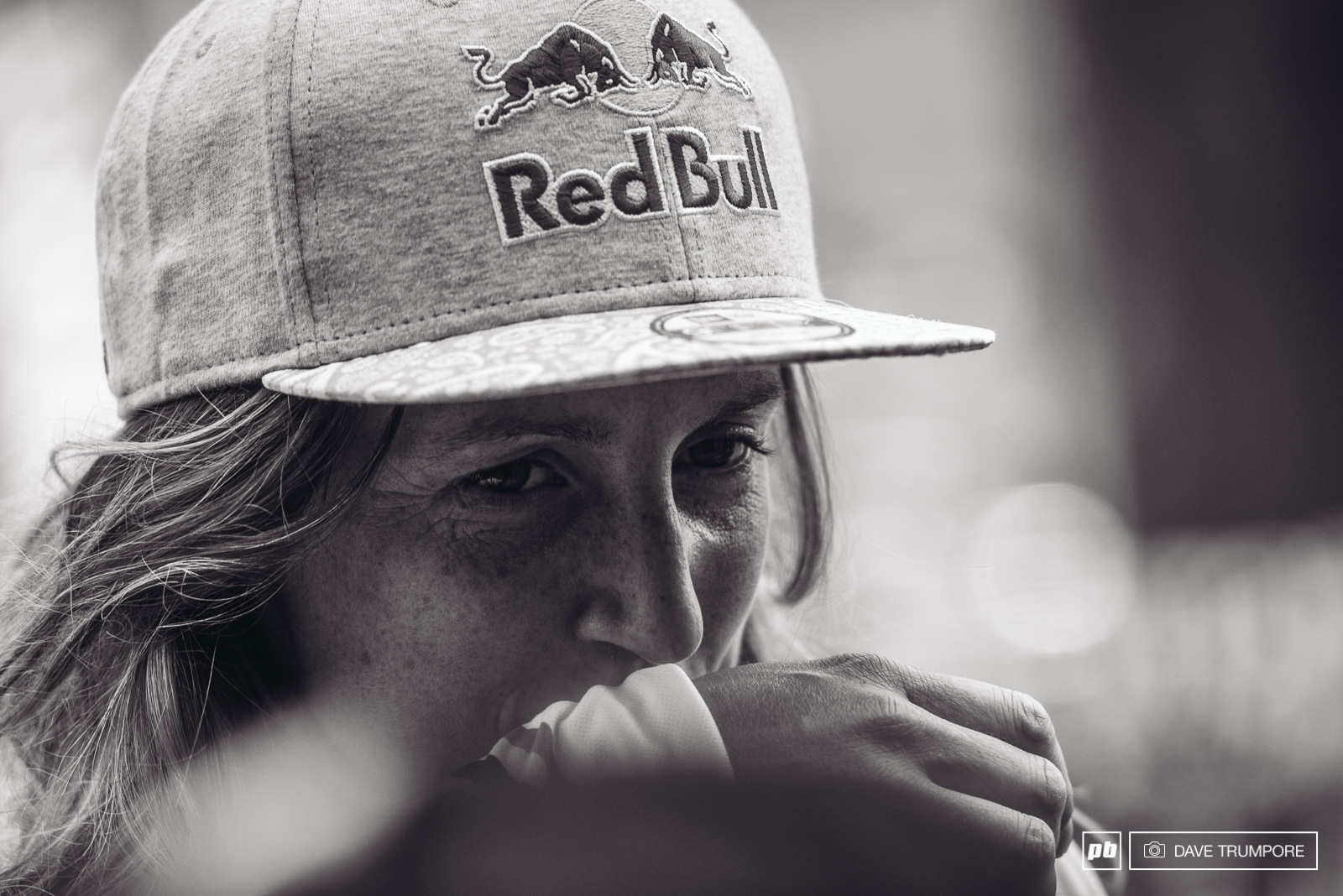 It was a tough one today for Rachel Atherton.