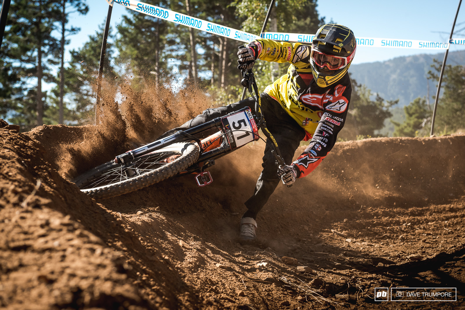 Can you tell that 4th place finisher Alex Fayolle comes from a moto background