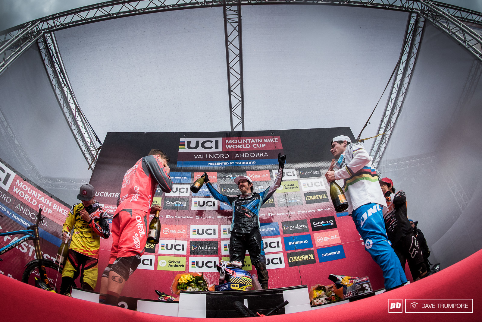 Danny hart makes it three wins in a row. Can he make it four next week at World Champs in Val di Sole