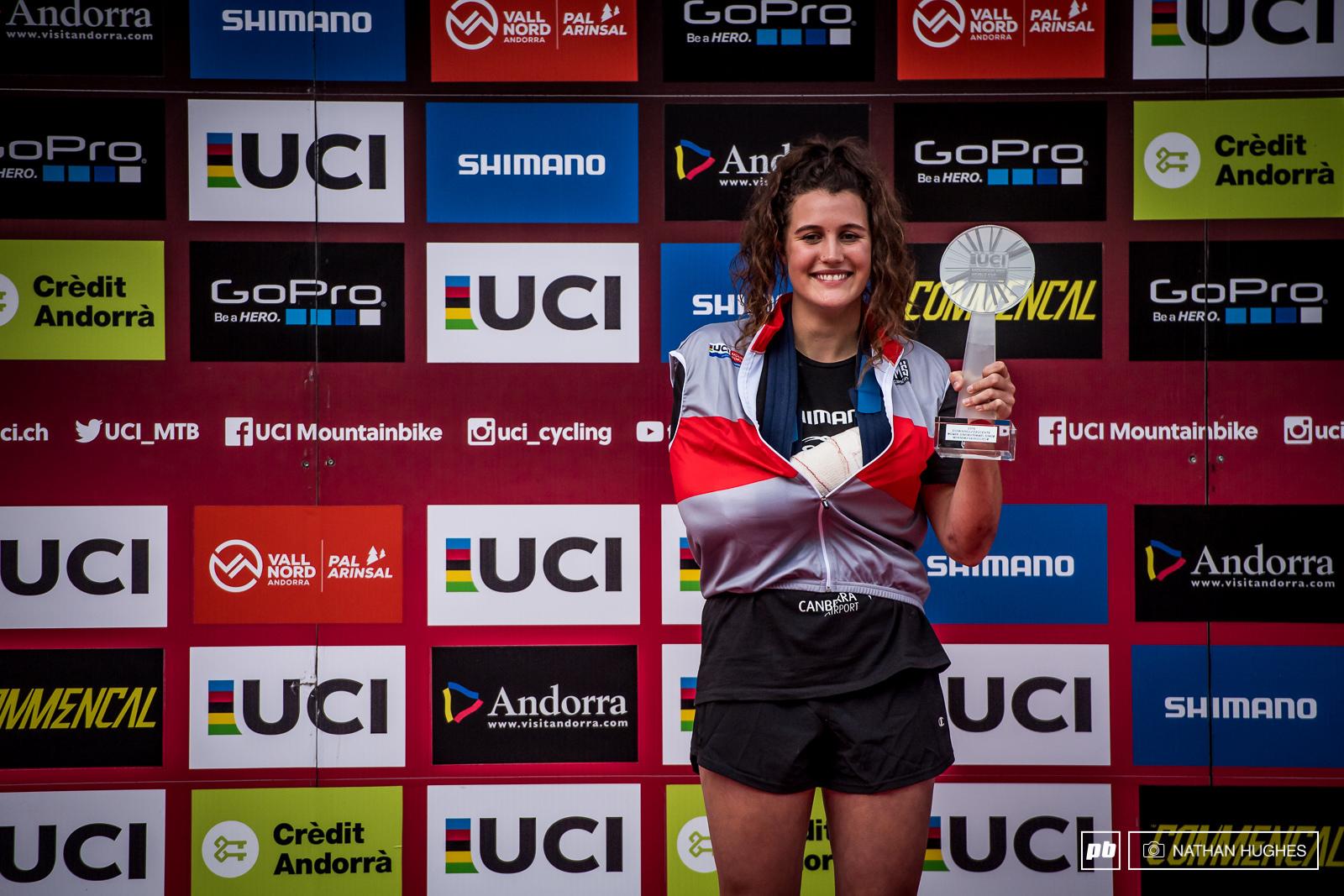 Junior womens winner