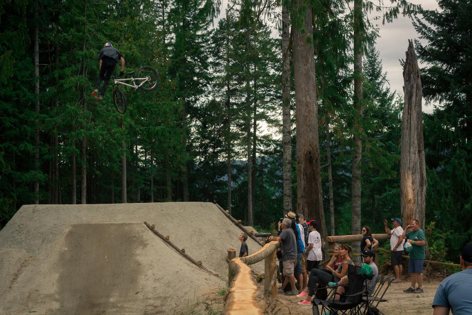 Nick Tingren Photo The Backwoods Jam 2016 Coast Gravity Park