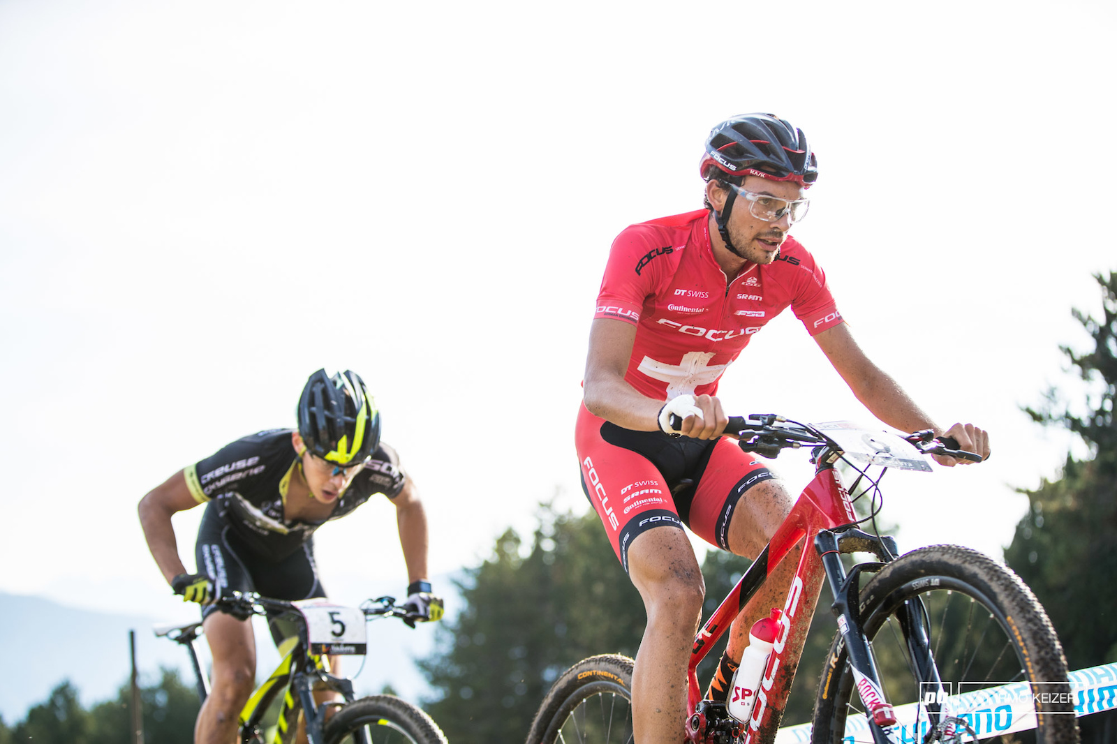 Marcel Guerrini rode a solid race which saw him take the win in Andorra.