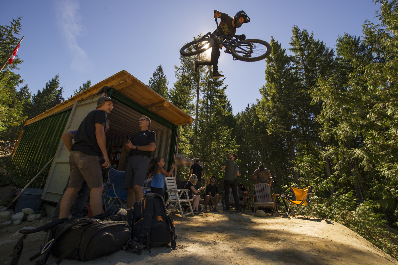 Bryce Piwek Photo 2016 Backwoods Jam at Coast Gravity Park