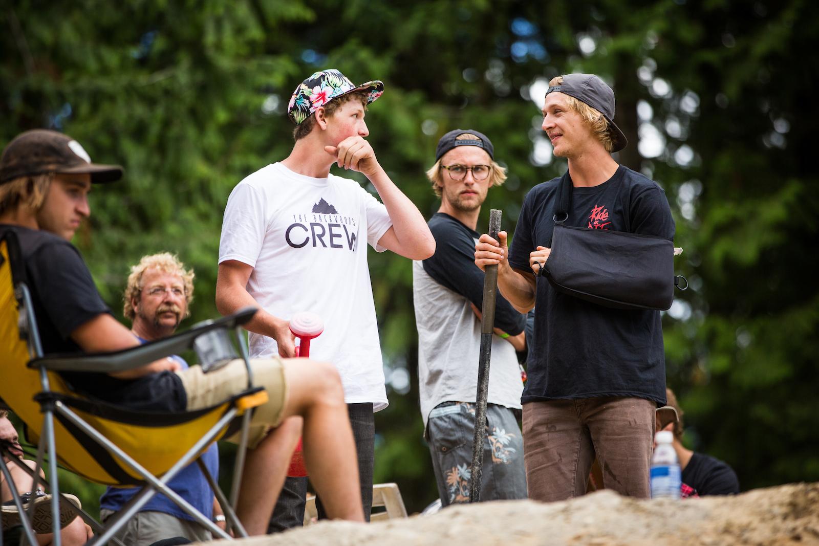 Dylan Dunkerton Photo The Backwoods Jam 2016 at Coast Gravity Park