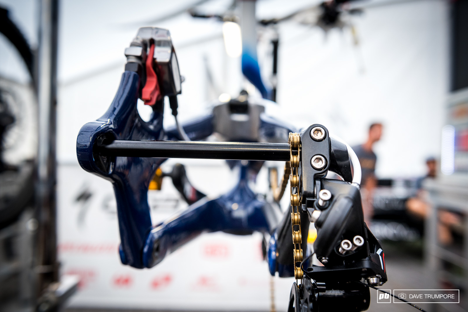The chain isn t the only piece of gold hardware Loic plans to leave Val di Sole with on Sunday.