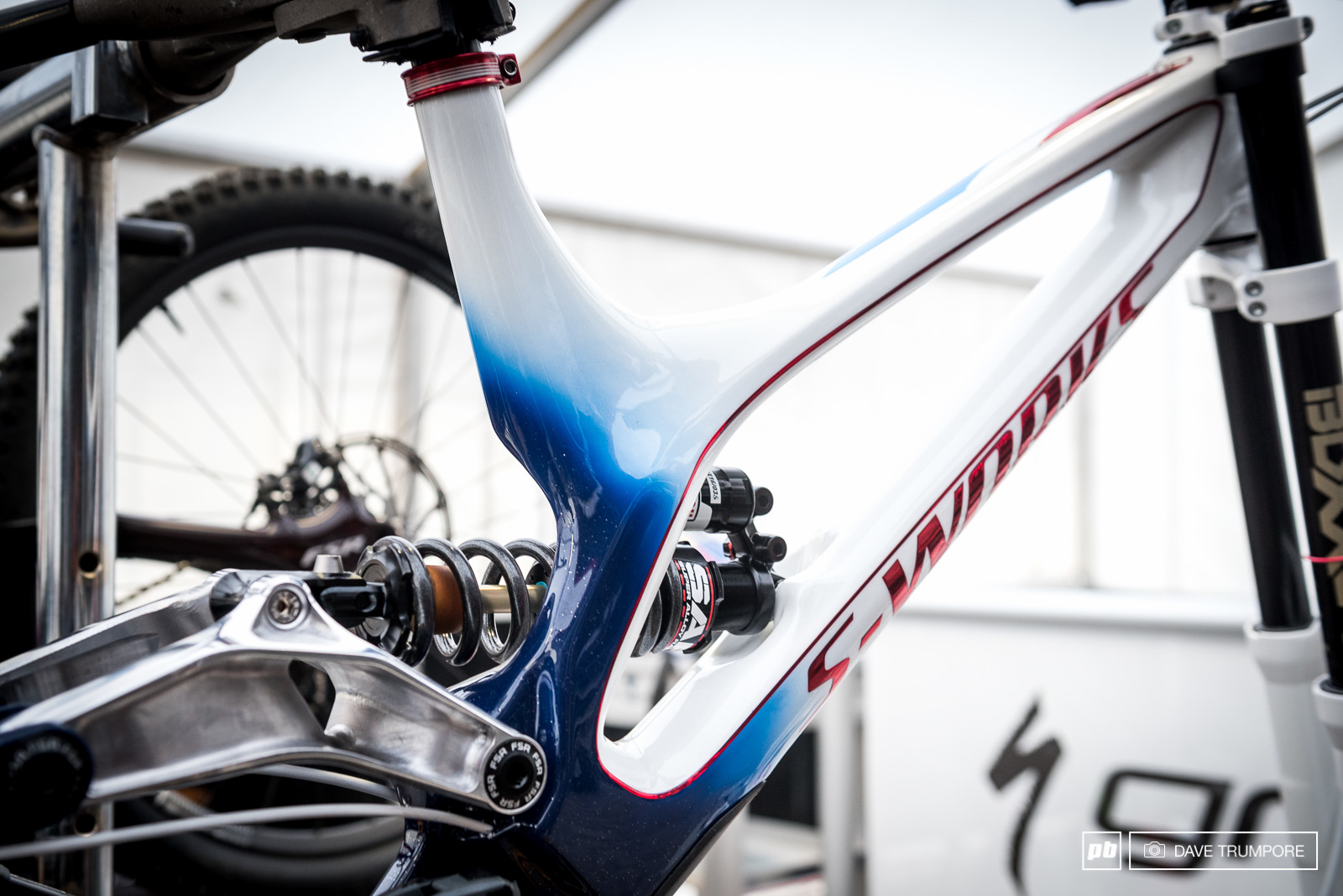 A beautiful new Specialized Demo for the defending World Champ Loic Bruni.