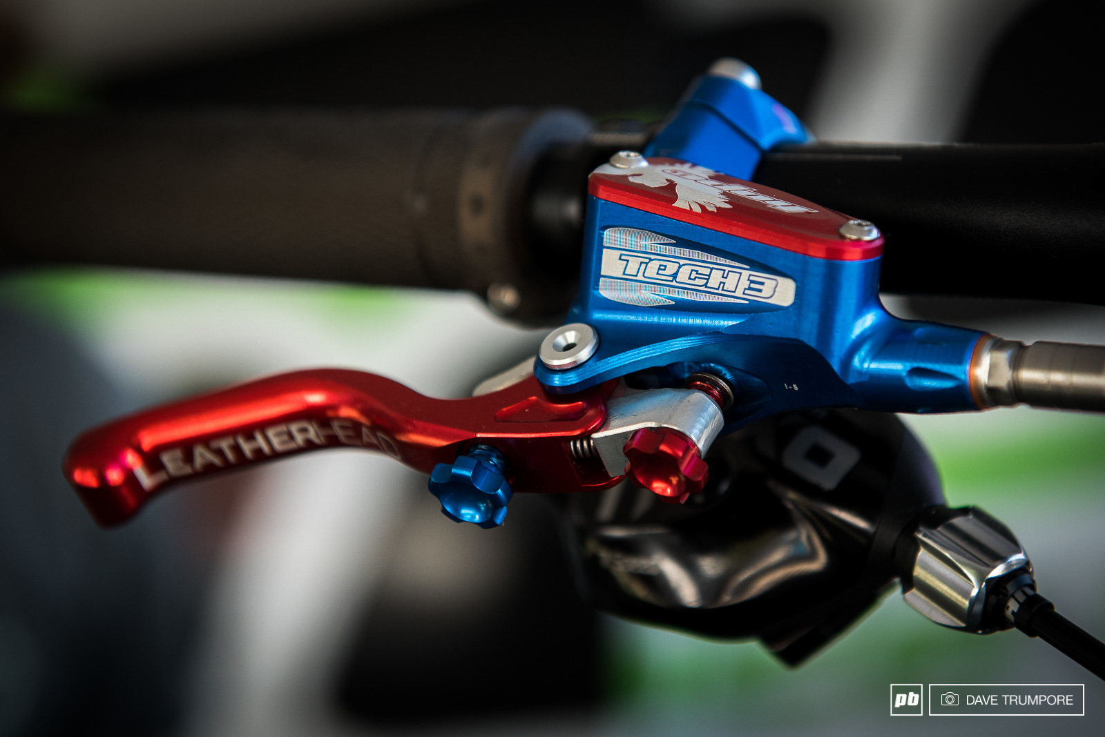 Adam Brayton s Scott Gambler. Hope anodize in house so can do all kinds of custom jobs for their riders.