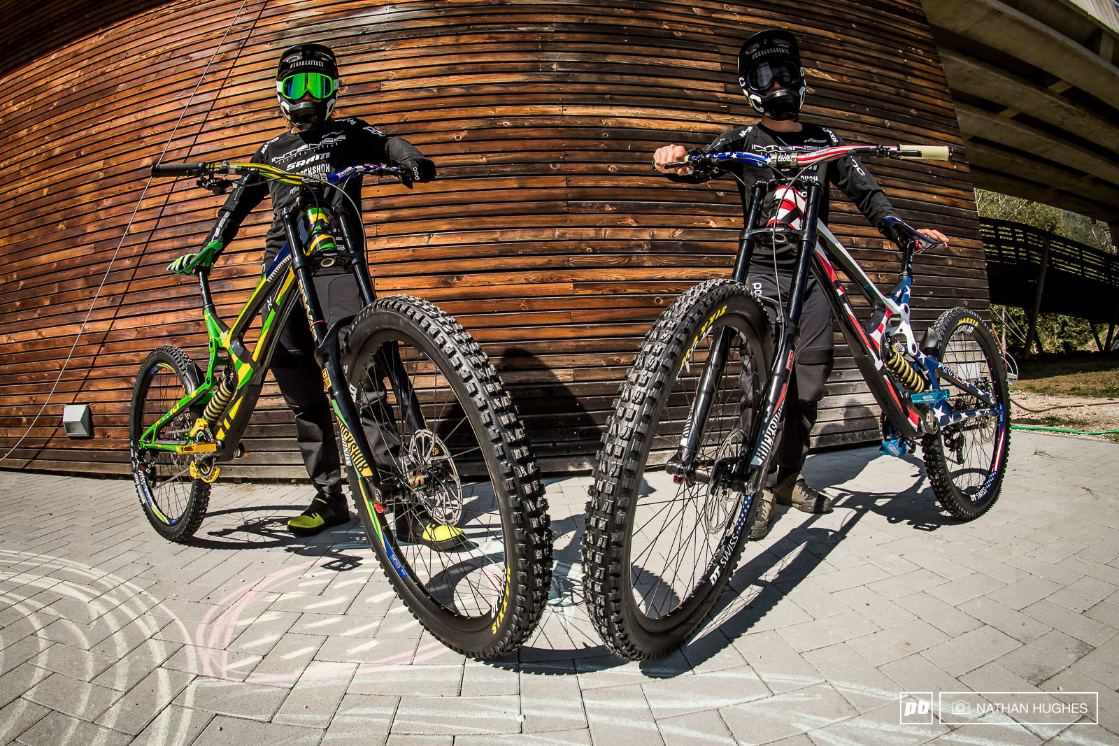 Style for miles at Intense Factory Racing with Jack Moir and Nik Nestoroff