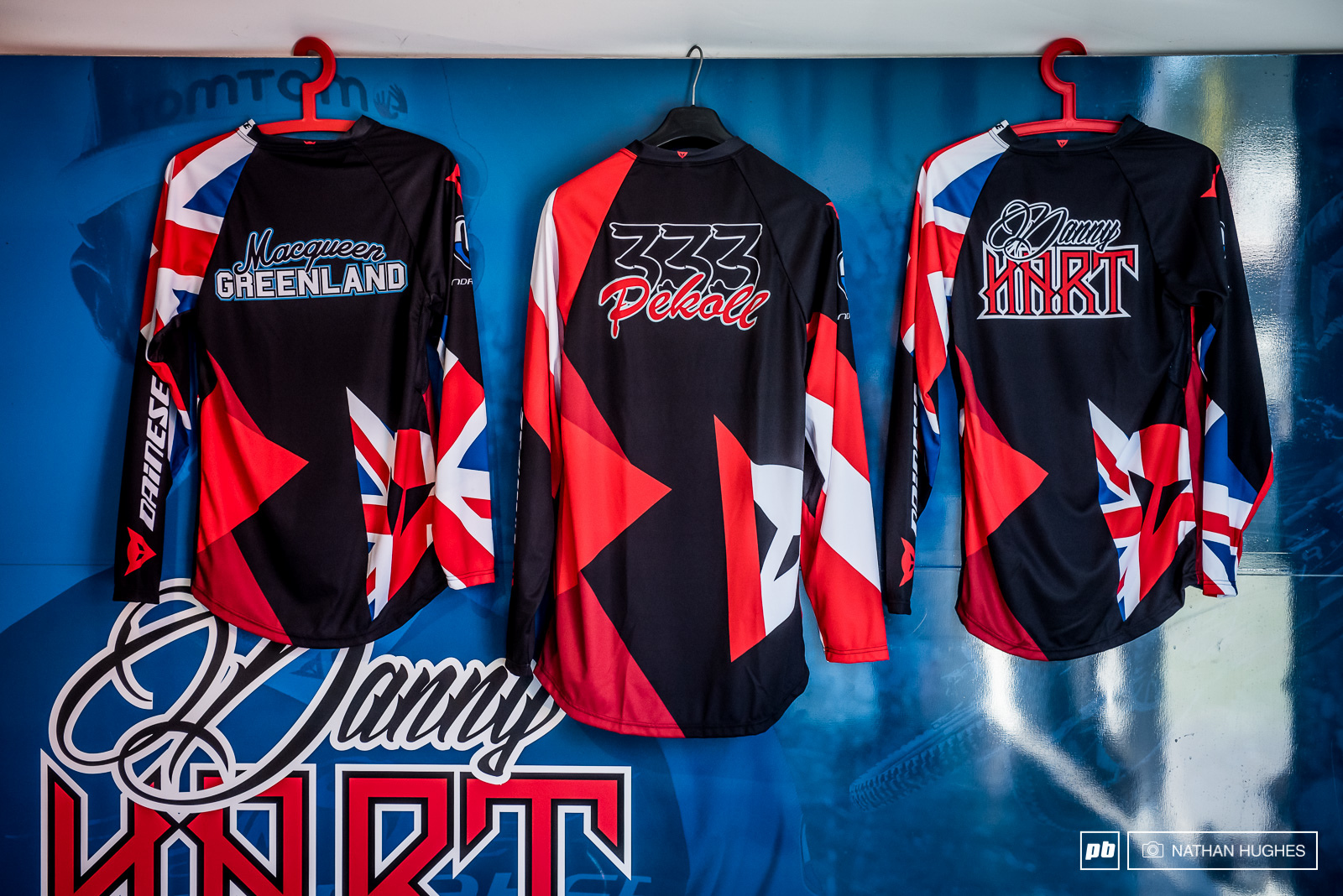New threads for the fastest team in the World.