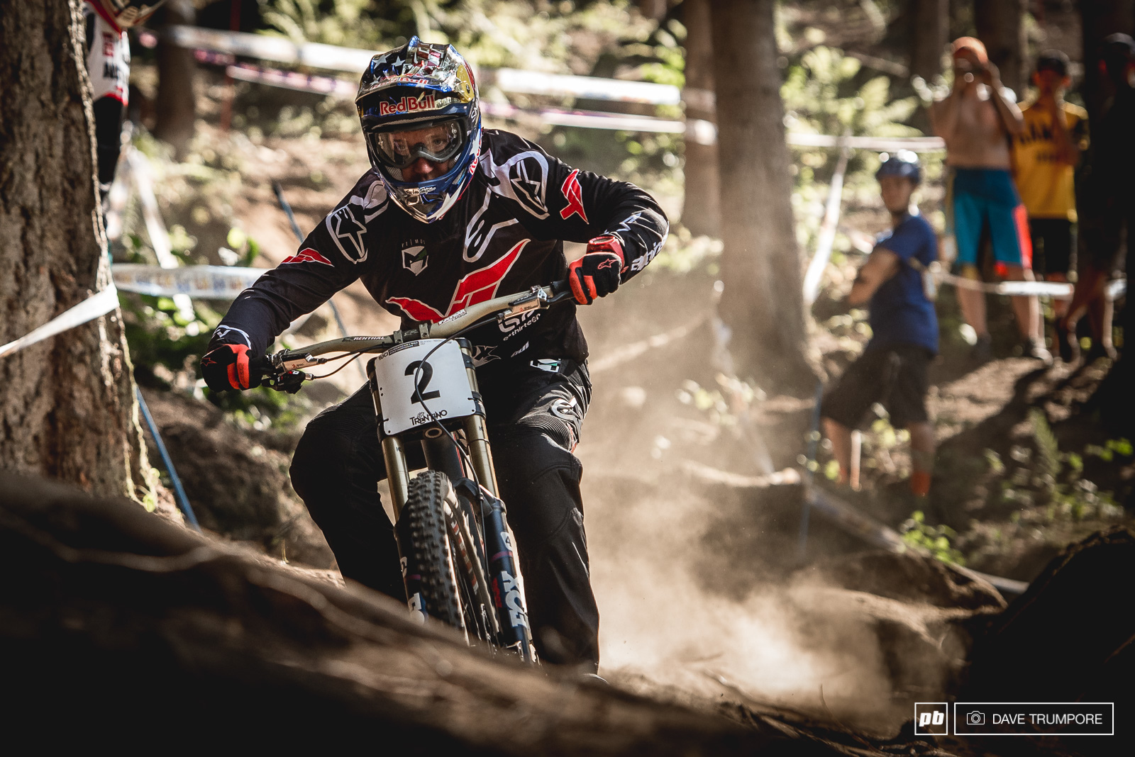 Aaron was cruising today and mostly checking out lines but given his track record in Val di Sole we imagine he is going to turn in up a notch over the next few days.