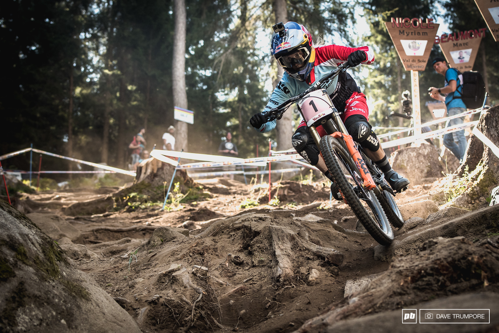 Rachel Atherton is just one win away from a perfect season.
