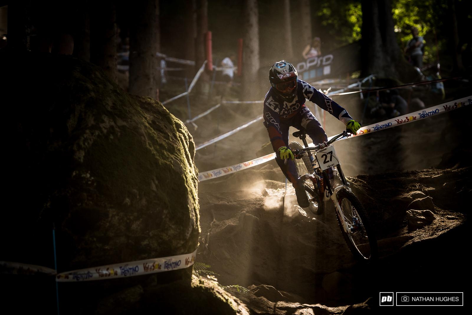 When the going gets steep Adam Brayton goes HAM.