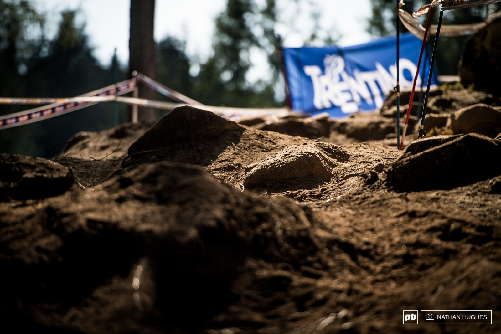 One more day of sun and Val di Sole is going become one giant sand box. It s well on the way already.