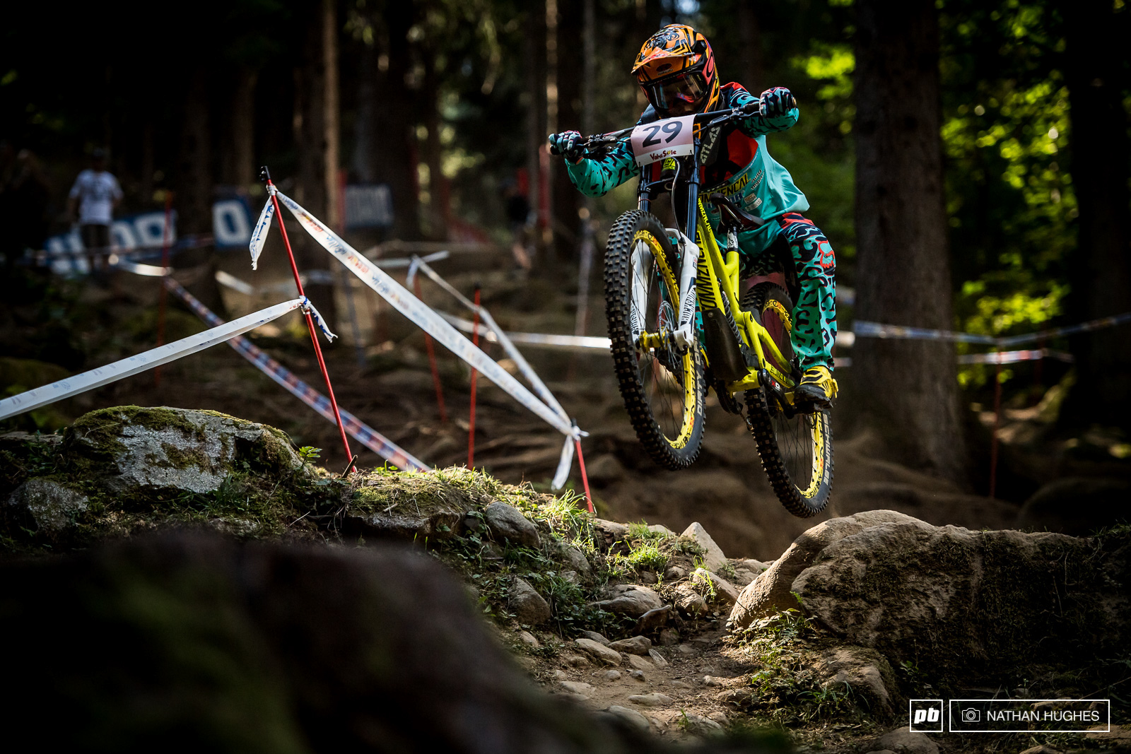 Awesome to see a female Japanese rider turn up to race the Worlds. Mia Suemasa has been on the scene for the best part of a decade but has focussed her attention mainly on XC in recent years.