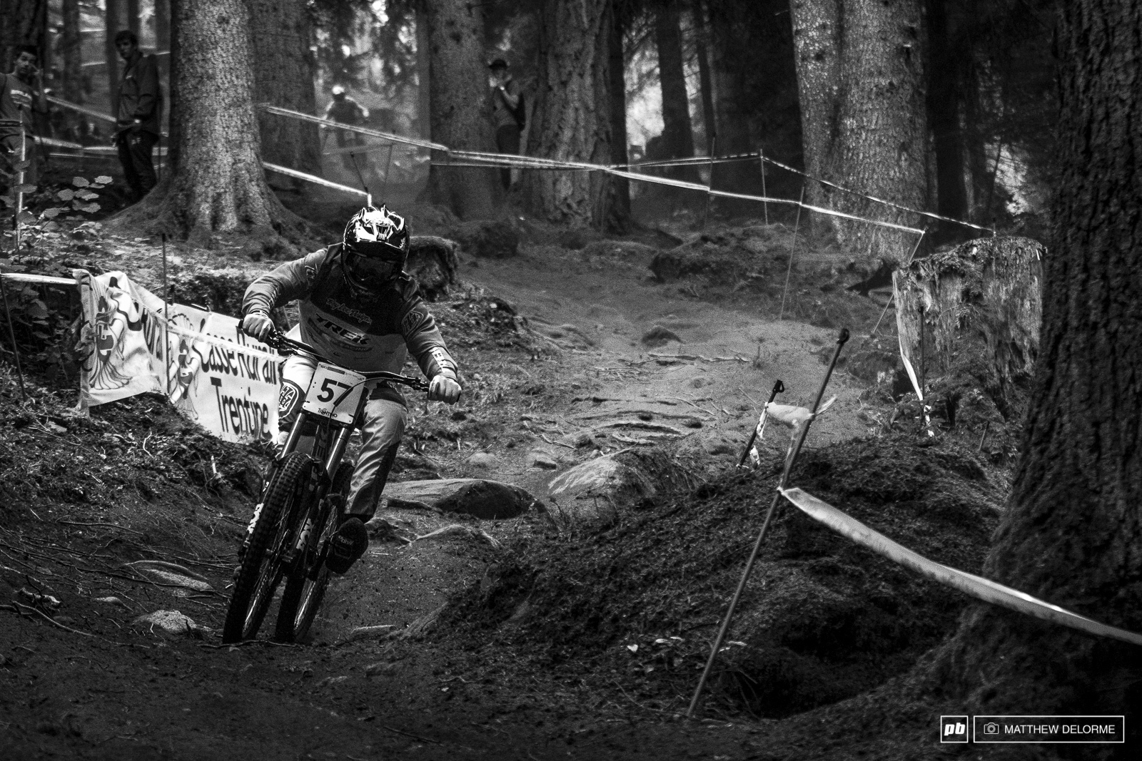 Charlie Harrison was 19th fastest despite a bad crash yesterday and a hurt shoulder.