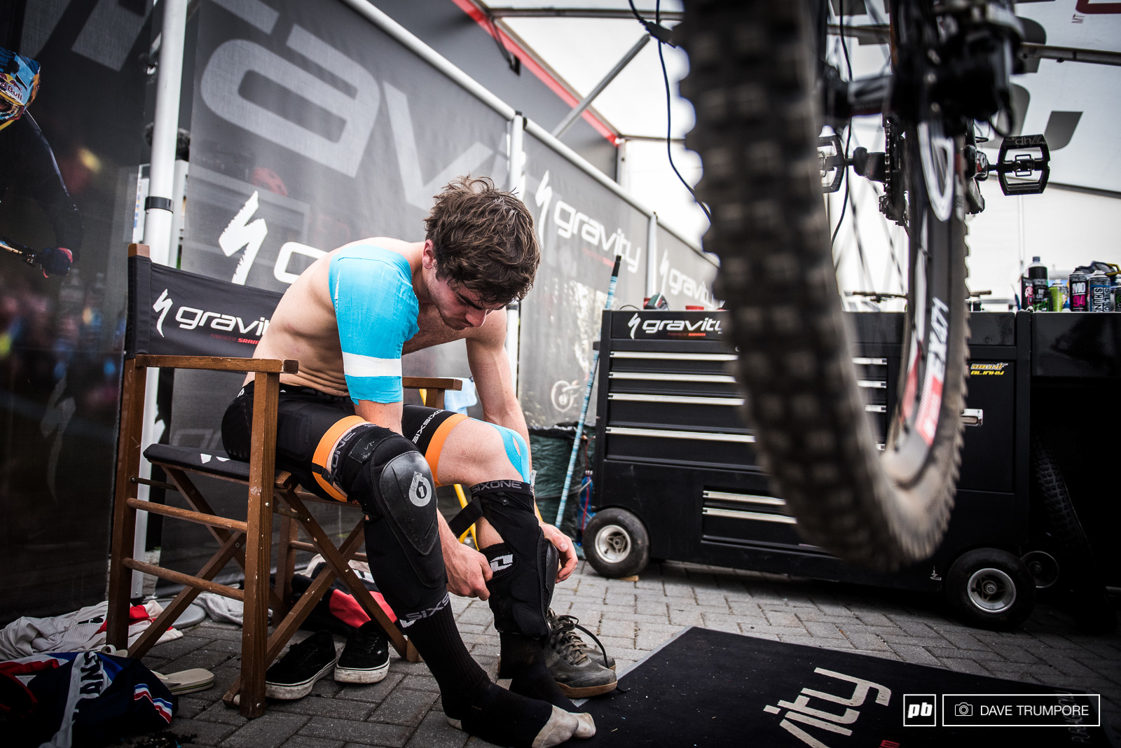 Loic is tapped together and nursing quite a few injuries right now but that s not enough to hold him back at World Champs.