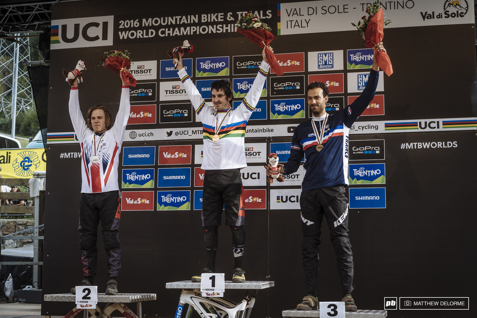 Mondraker sweeps the podium.