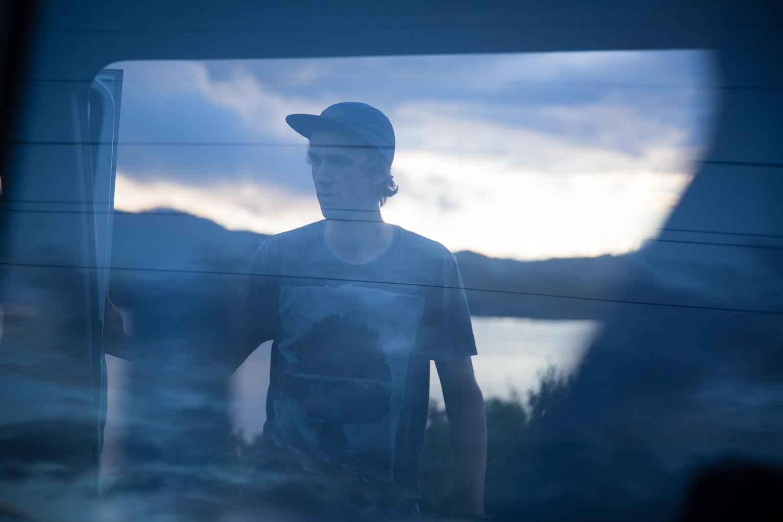 Julien Boulais aka the chef. PHOTO Ben Gavelda