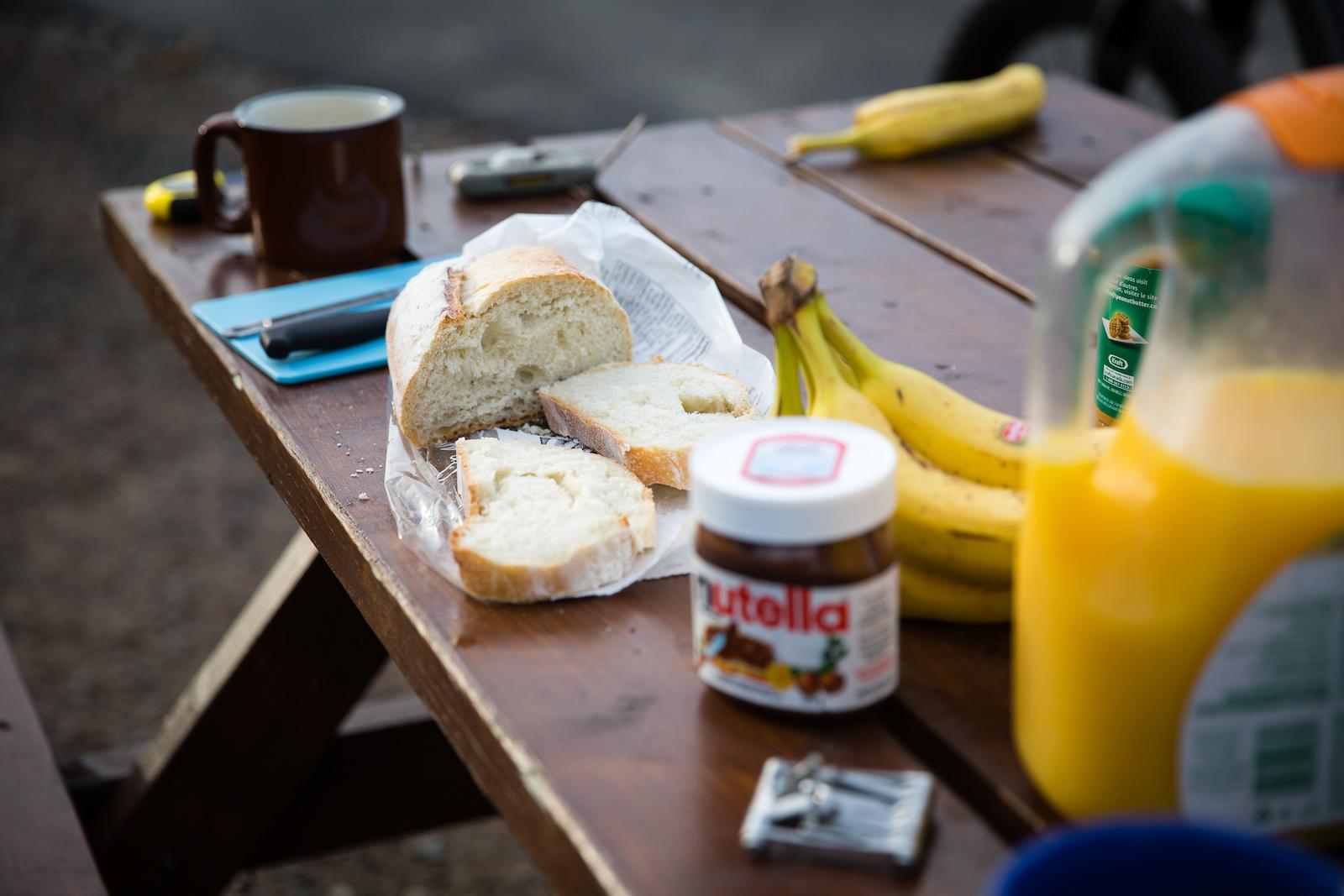 Breakfast of champions. PHOTO Ben Gavelda