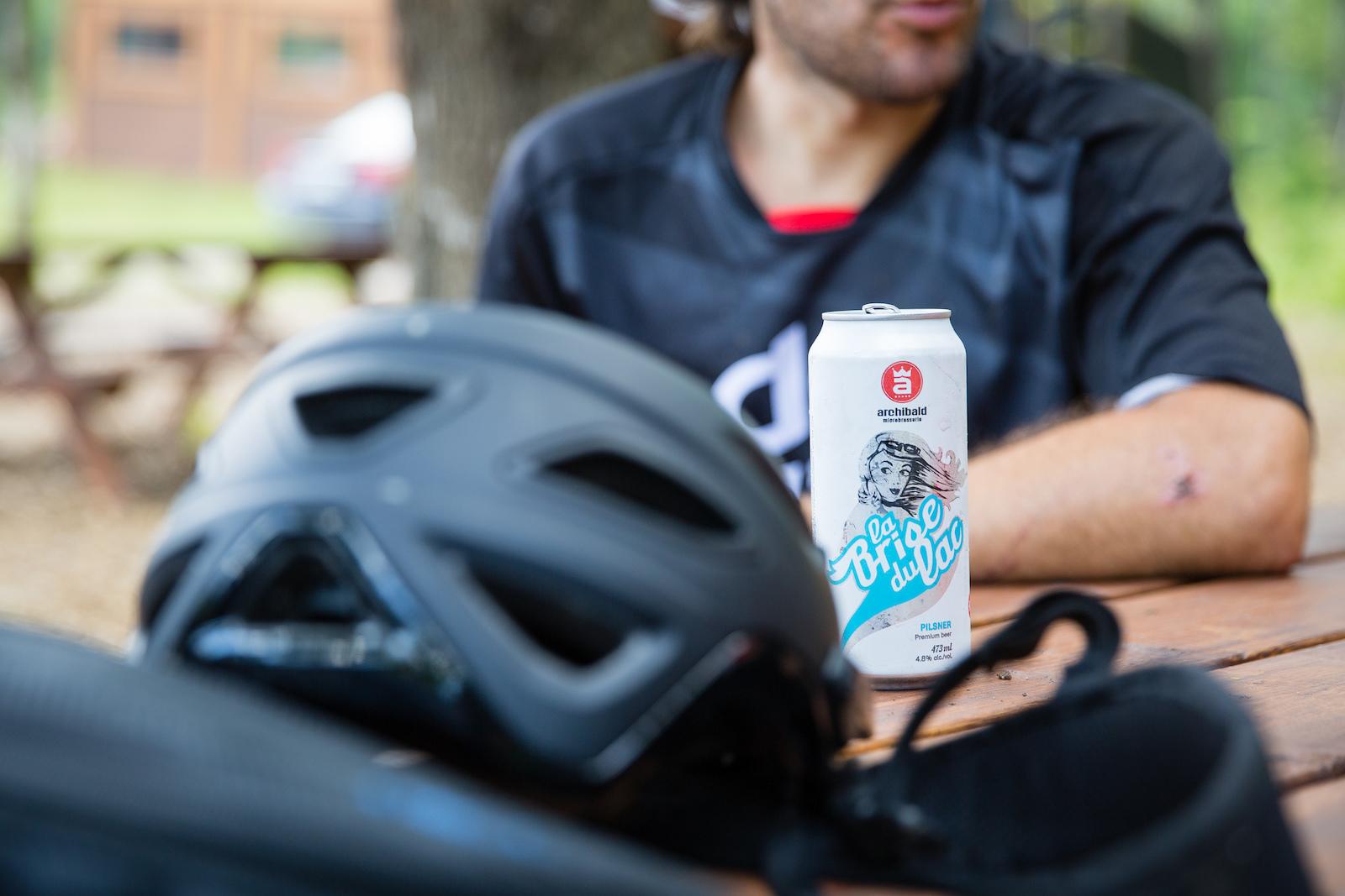 Post ride refreshment. PHOTO Ben Gavelda