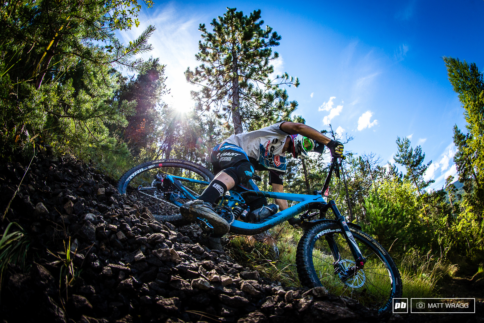 Yoann Barelli is undoubtedly one of the fastest riders not to have yet won a round. He was born in this area and grew up riding this sort of terrain so it would certainly be sweet satisfaction for the Whistler-transplant if he could break his duck here...