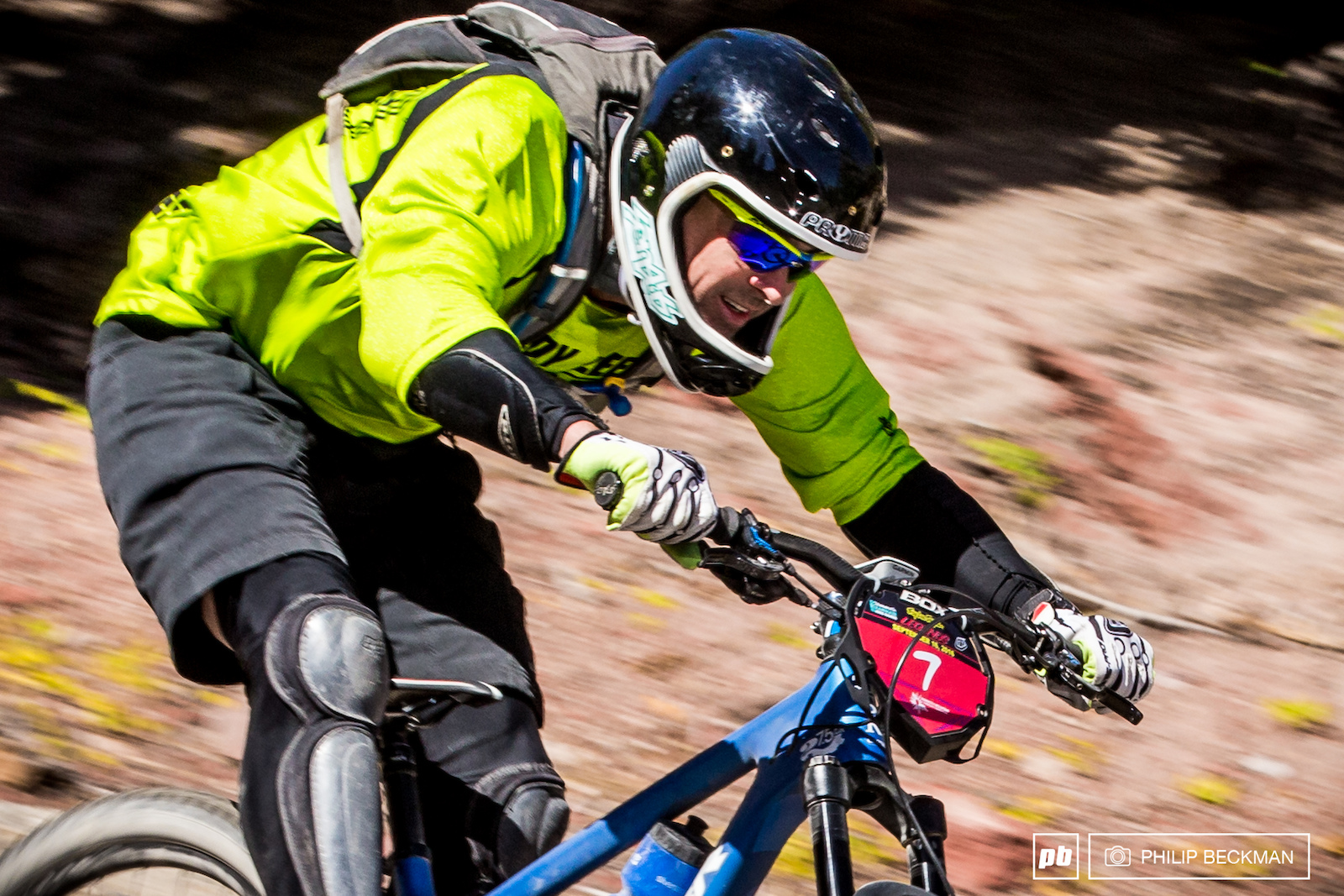 If you like to go fast on a mountain bike the Kamikaze Downhill will put a smile on your face.