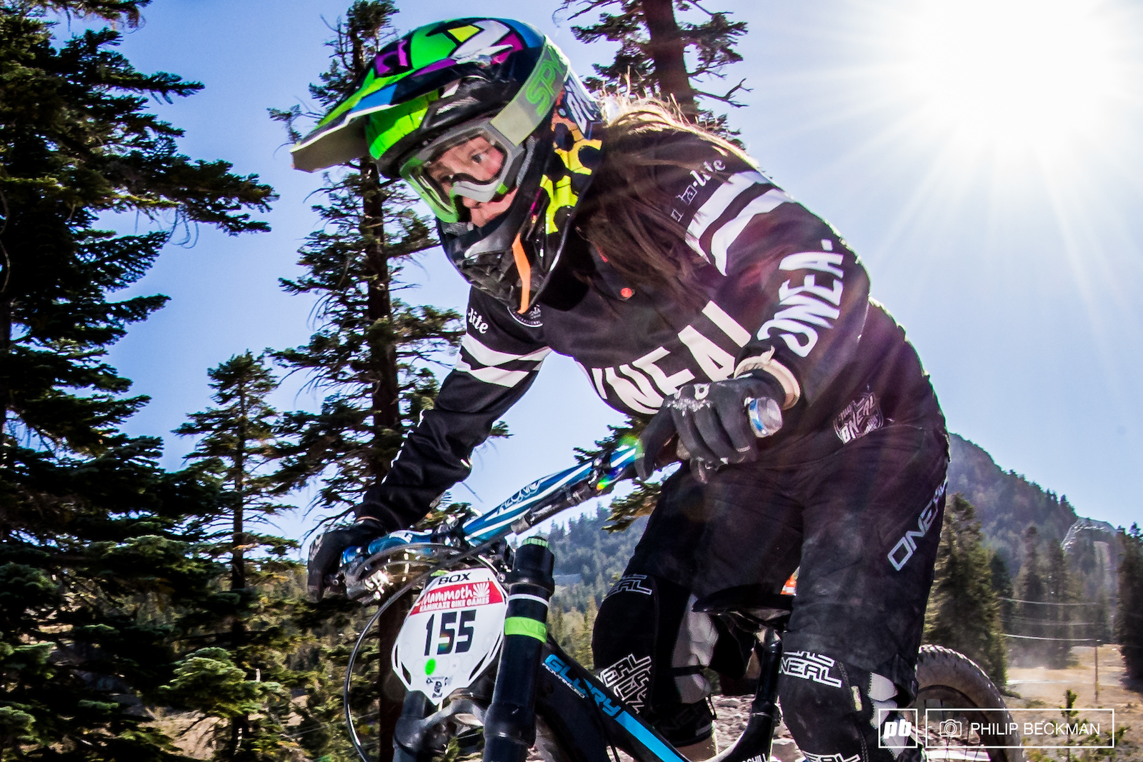 Fresh off a silver medal performance in the Junior Women s class at last weekend s World Championships 16-year-old Samantha Kingshill College Cyclery O Neal is looking to capture the Pro GRT Pro Women s title at KBG.