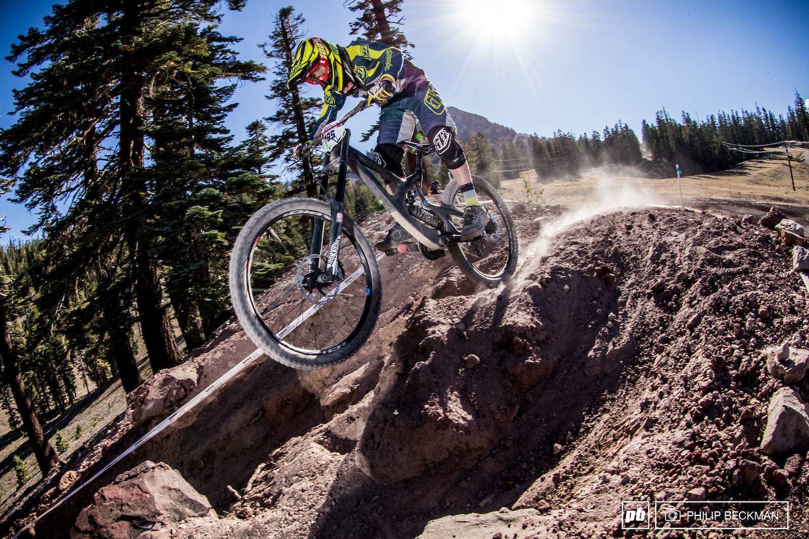 The USA Cycling MTB National Championships took place at Mammoth two months ago for the second consecutive year . The Elevator Shaft was daunting then and has not gotten any easier since then.