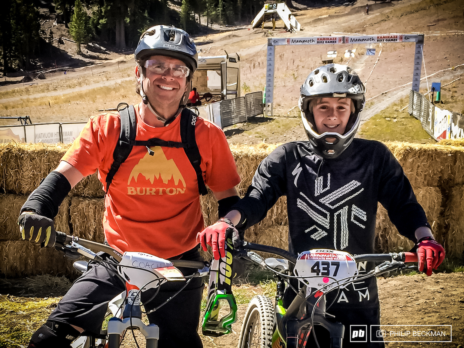 Shiny happy people ready to rip at the Kamikaze Bike Games.