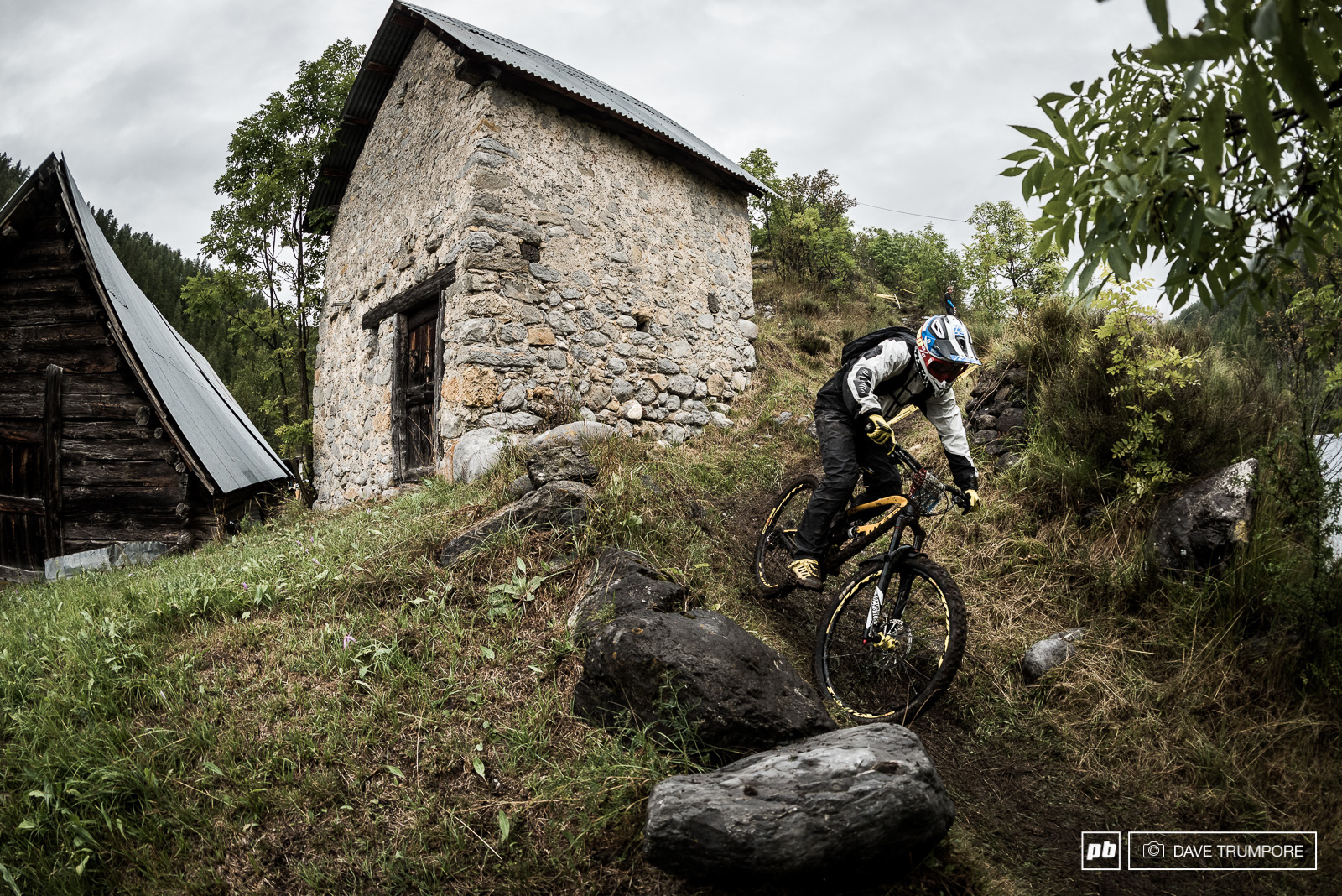 One week after DH World Champs junior racer Eliot Heap is here in Valberg perhaps to dodge another week of school.