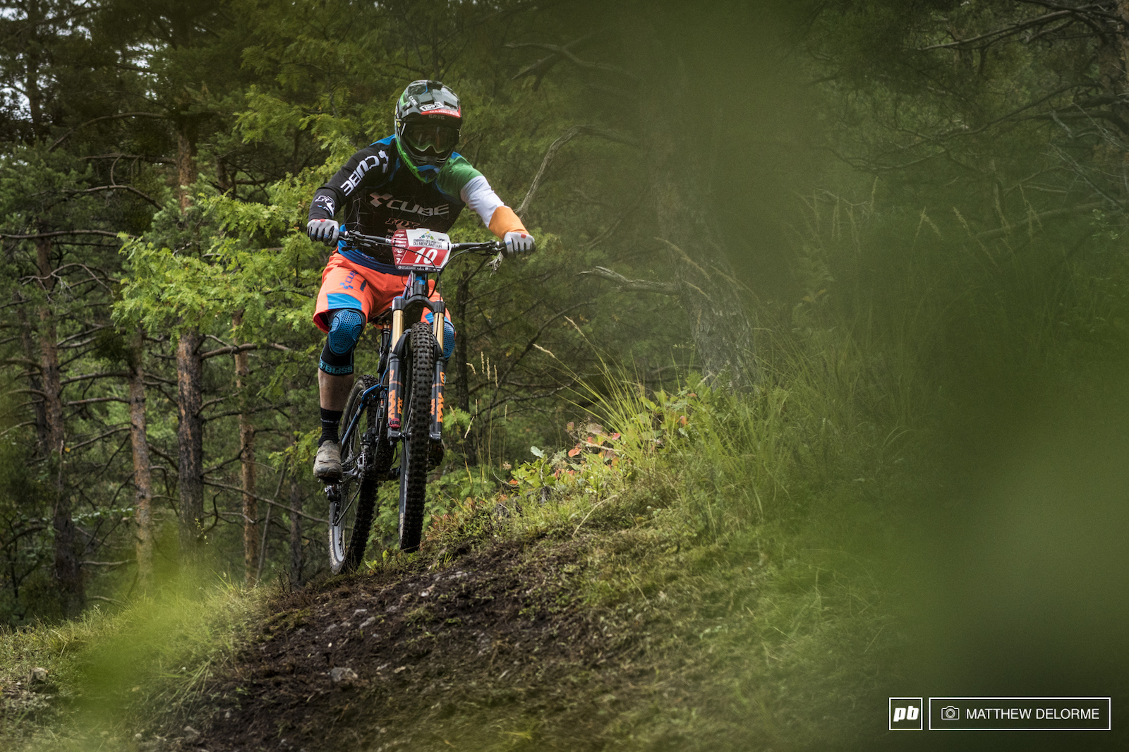 Greg Callaghan took the win on stage one and finished fourth today.