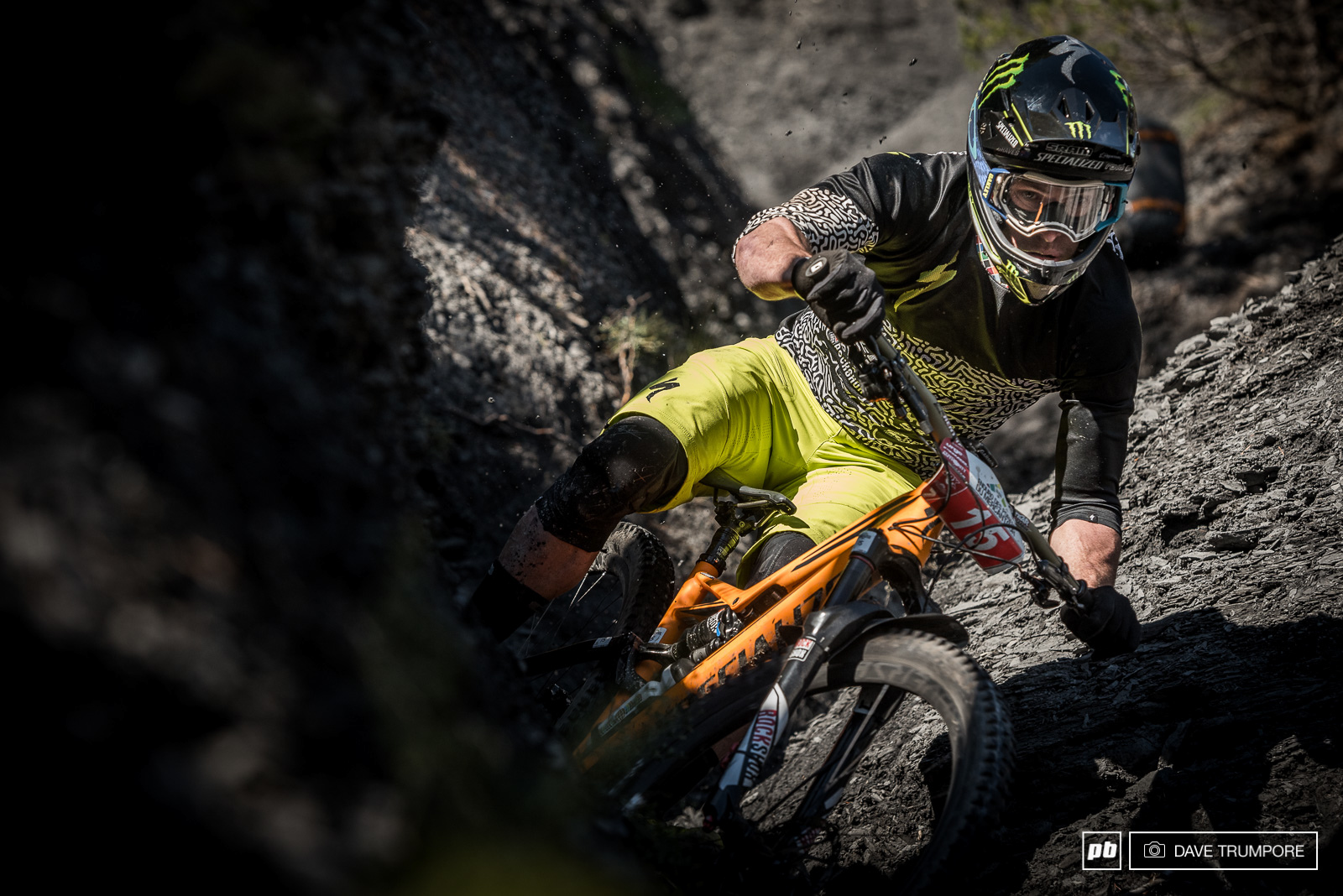 Jared Graves had a massive crash on stage 1 and struggled to regain his form through the rest of the day.