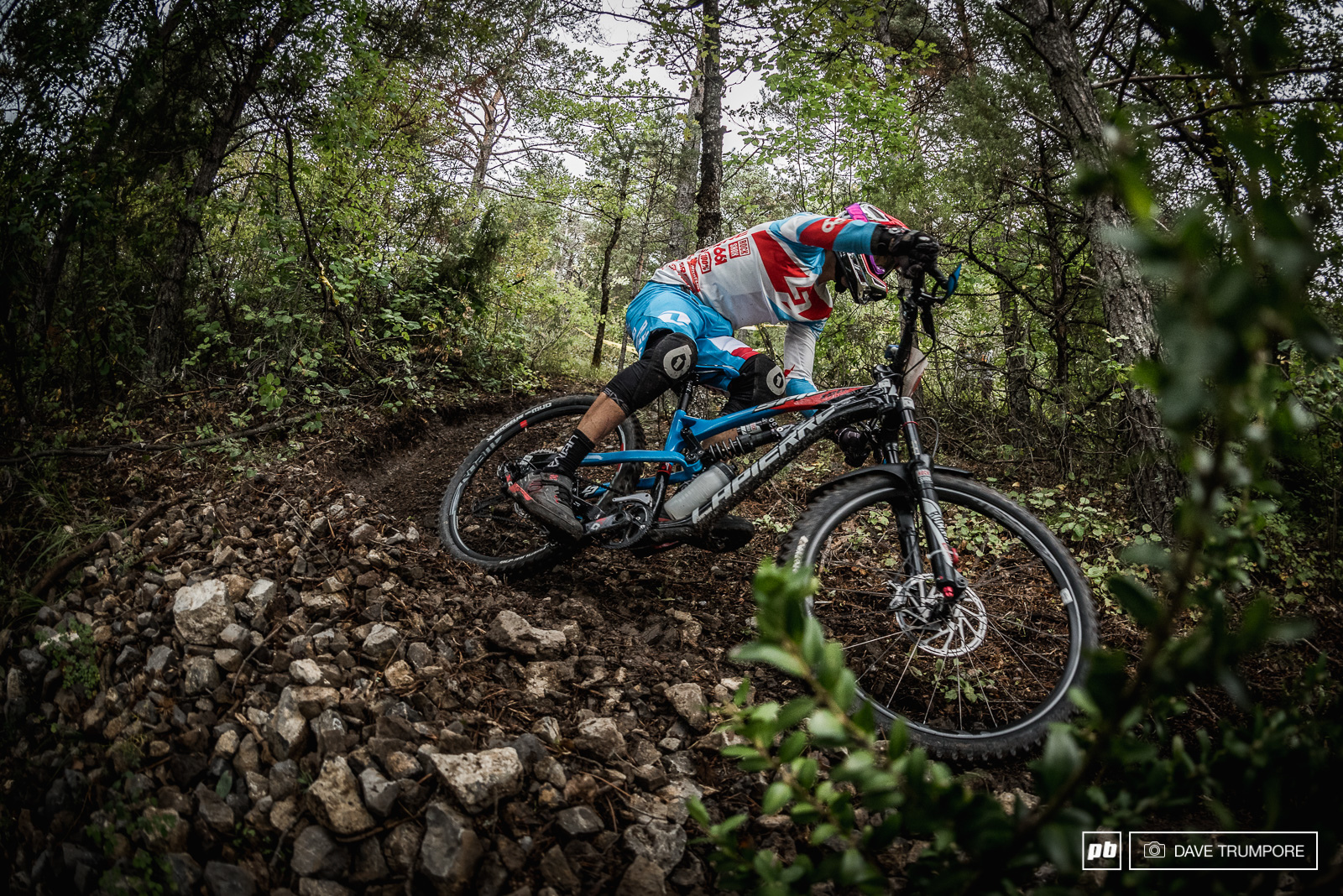 Nico Vouilloz knows these trails quite well having lived and trained in this region his whole career. A win on stage 3 made up for his slow start and he is now sitting 2nd in the overall.