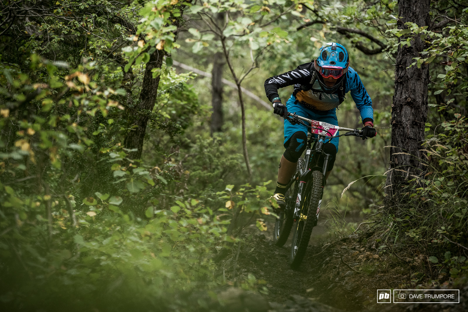 Ines Thoma is currently sitting in 4th but still quite a distant 30 seconds from a podium position.