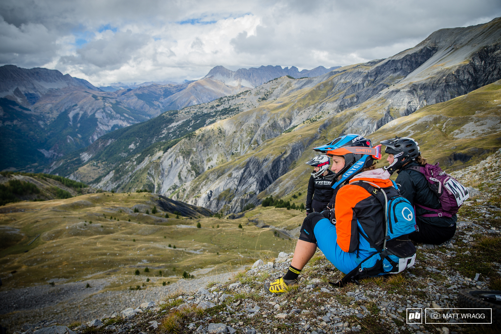 With four hours between the first two stages there was plenty of time for the mammoth climb and some time to soak in the view at the head of the stage.