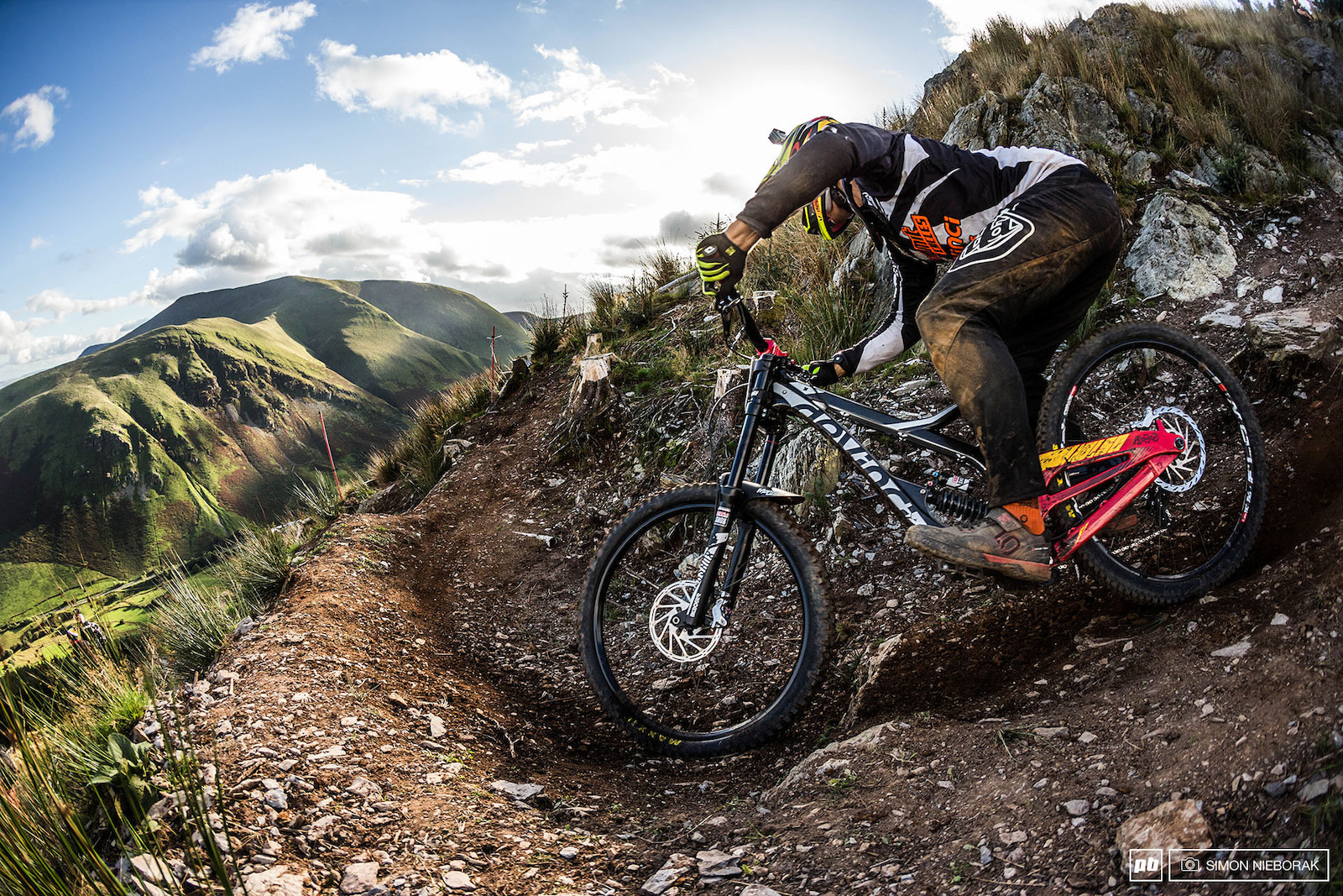 Wales is a paradise for mountain bikers and photographers... when the sun is shining.
